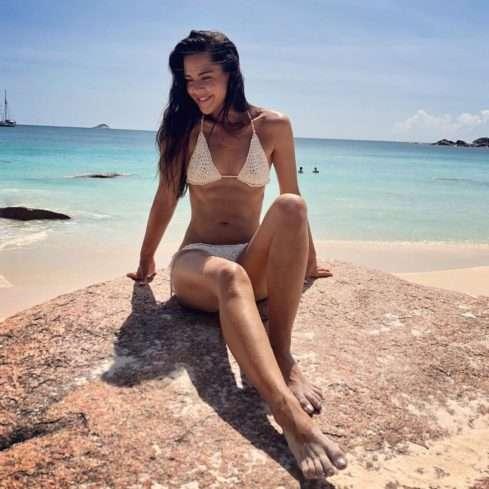 Dominika Býmová provokuje na dovolené