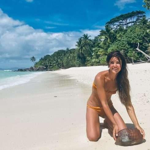 Dominika Býmová se má jako v ráji