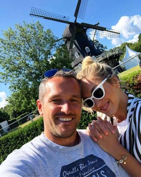 Manželé Hejdovi v Kodani