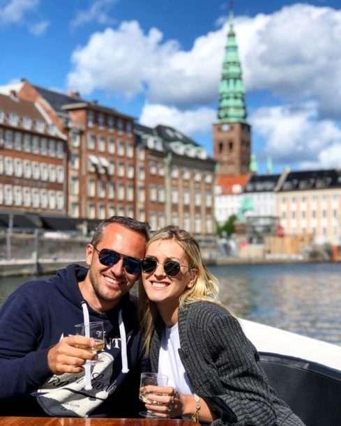Zorka Hejdová a Míra Hejda na dovolené