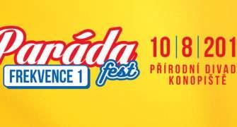 PARÁDA fest Frekvence 1 proběhne už 10. srpna na Konopišti