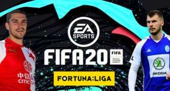 Česká FORTUNA:LIGA se vrací do hry FIFA 20