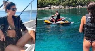 Leoš a Monika Marešovi si užívají luxusní dovolenou.
