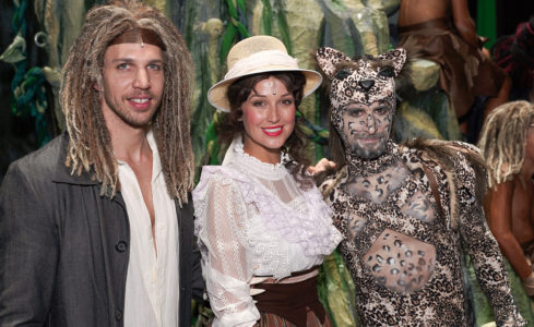 Muzikál Tarzan kostýmy