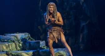 Robert Urban jako Tarzan