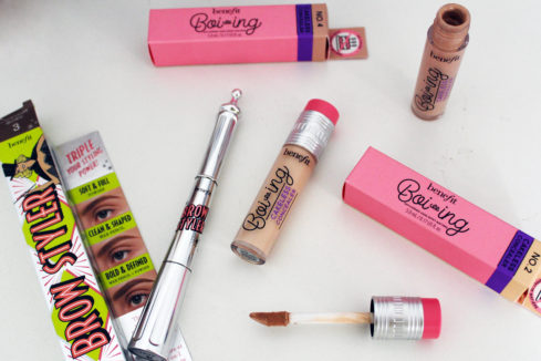 Podzimní novinky roku 2019 od Benefit Cosmetics
