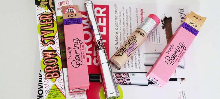 Podzimní novinky od Benefit Cosmetics