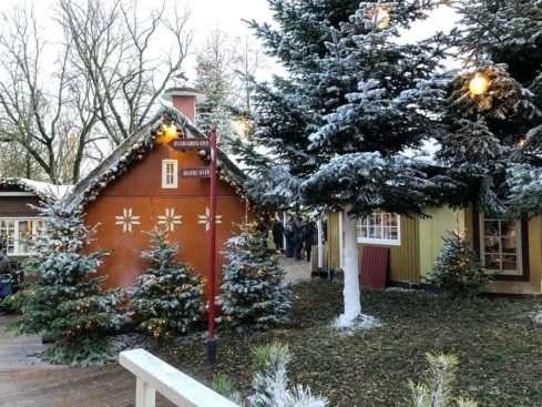Vánoční trhy v Tivoli Kodaň
