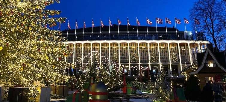 Kodaň Vánoce v Tivoli