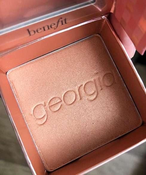 Tvářenka Georgia od Benefit Cosmetics